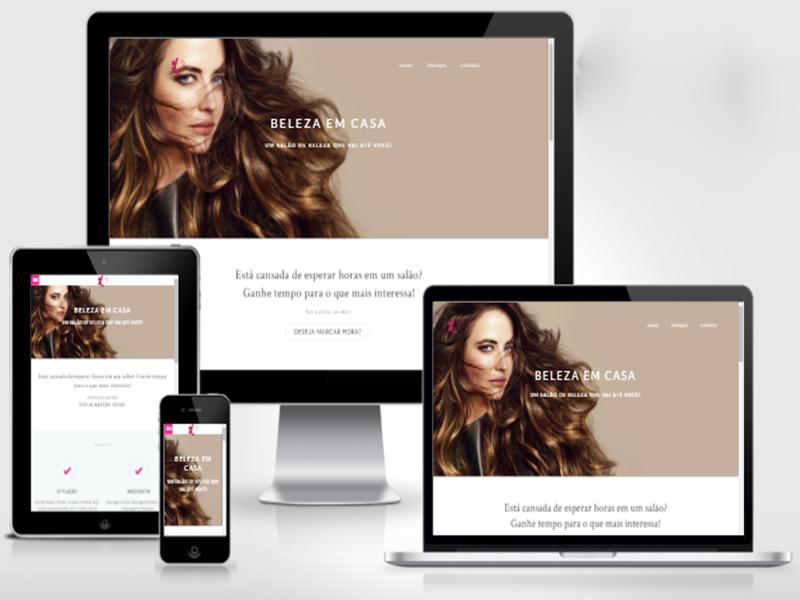 site salão de beleza delivery - belezaemcasa.net.br